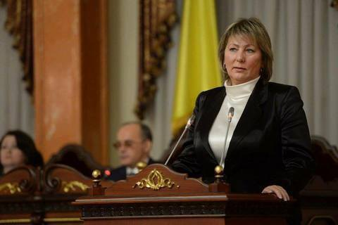 Valentyna Danishevska elected Supreme Court chair