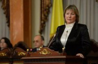 Valentyna Danishevska elected Supreme Court chair