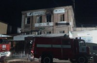 Zaporizhzhya hostel fire takes five lives