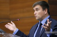 "Ukrainian foreign minister says Minsk accords ""not dead"""