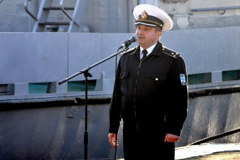 Ukrainian fleet staff commander reportedly suspended