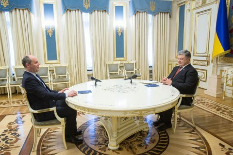 Poroshenko inks proposal to reshuffle key election body