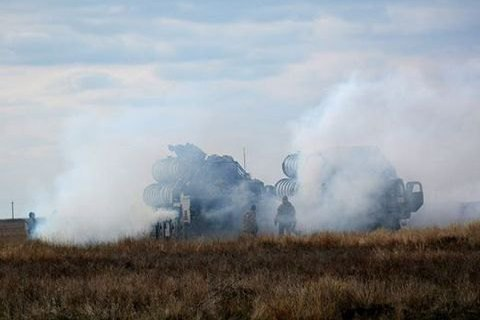 Ukraine completed missile exercises
