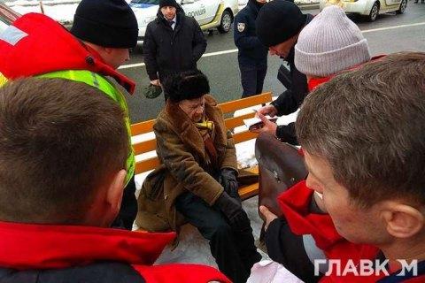 Pedestrian knocked down by presidential motorcade