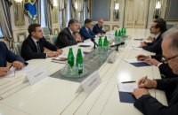 Ukraine, OSCE discuss peacekeeping mission in Donbas