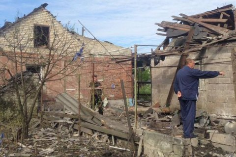 Militants shell Maryinka from Grad-P systems