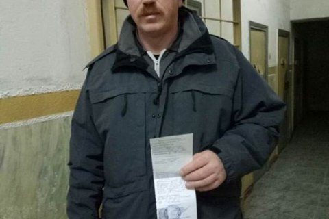 Georgian volunteer wanted by Russia released in Kyiv