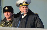 Ukrainian navy chief snubs Putin's proposal to return military equipment from annexed Crimea