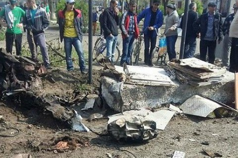 Car blast in south Ukraine treated as terror attack