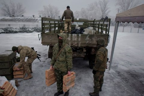 Ten Ukrainian servicemen injured in Donbas