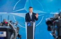 NATO chief: Russia masses troops along Ukrainian border