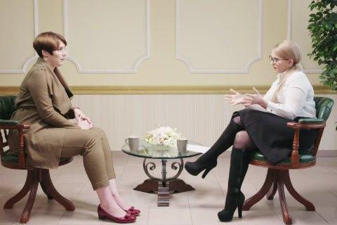 Yuliya Tymoshenko on Sonya Koshkina's KishkiNA vlog
