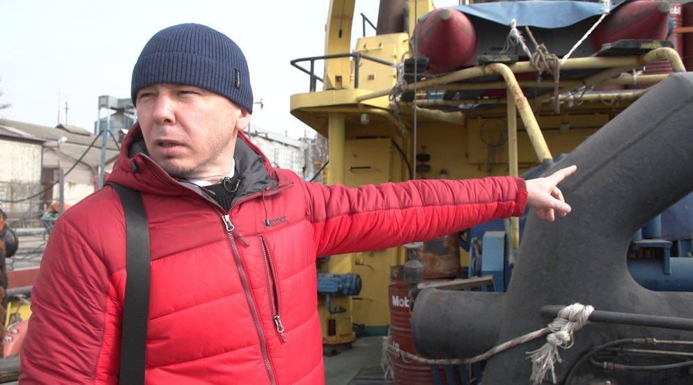 Ilya Ryzhkov, acting head of the administration of Kherson sea port