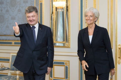 Poroshenko blames Self-Help for postponement of IMF tranche