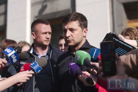 Zelenskyy: Information war used to be against Russian media, now it is inside Ukraine