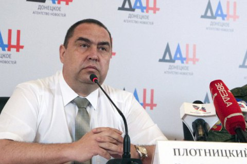 Luhansk chieftain Plotnytskyy denies fleeing to Russia