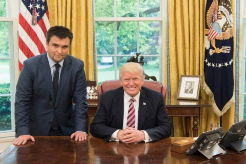 Trump receives Ukrainian foreign minister at White House