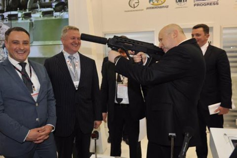 Ukraine nets joint ammo projects at Istanbul arms show