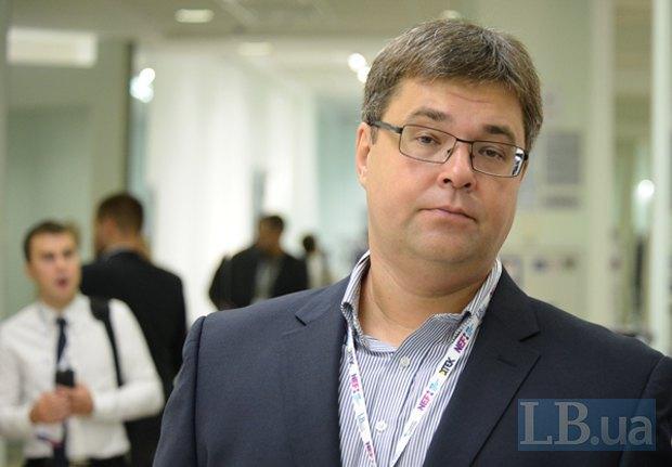 Moderator Oleksandr Kharchenko