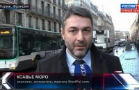 DPR flagman in Paris admits to Russian citizenship