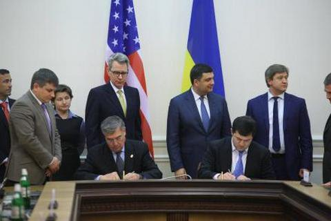 Ukraine, USA sign customs co-op accord