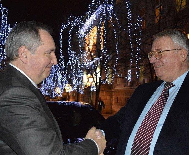 Dmitriy Rogozin and Vojislav Seselj