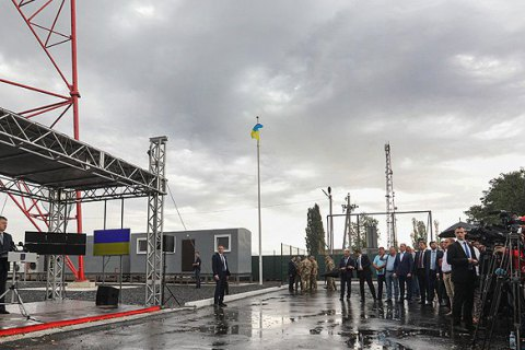 Ukraine launches another TV tower to broadcast east