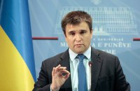 Klimkin: No reason to move Donbas talks from Minsk