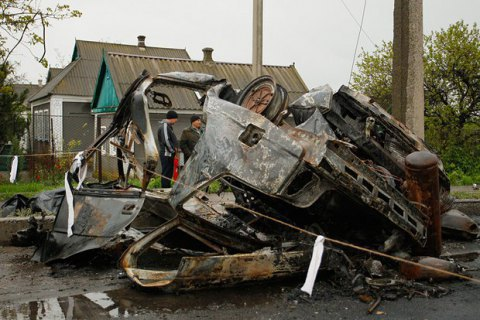Turchynov: Olenivka was hit from DPR-controlled territory