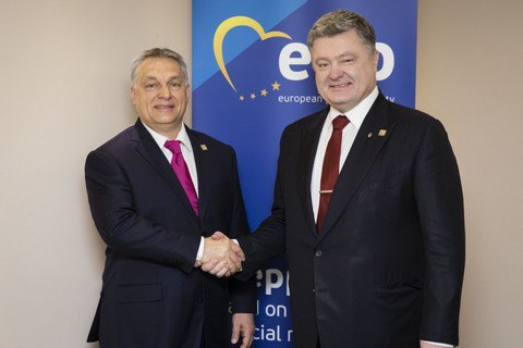 Poroshenko concerned over Orban's deputy statement about Hungarian autonomies