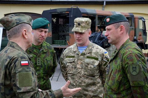 Lithuanian-Polish-Ukrainian brigade opens staff in Lublin