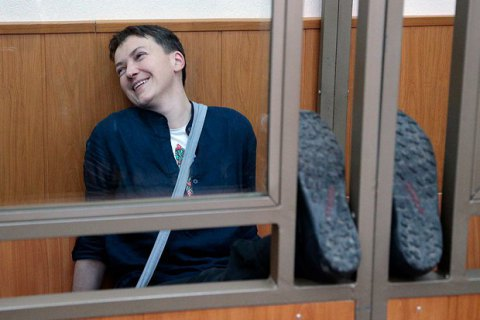 Savchenko against appealing own sentence