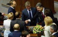 Poroshenko behind Tymoshenko in popularity polls