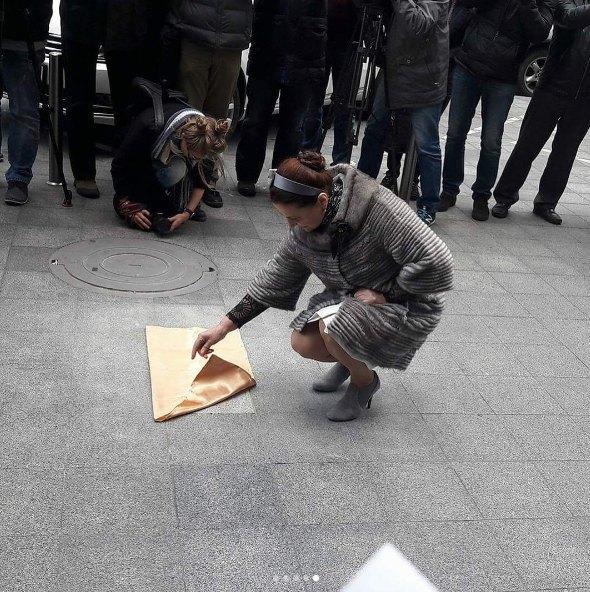 """Нина Матвиенко открывает именную звезду на """"Площади звезд"""""""