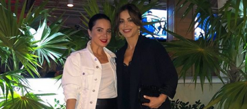 Ани Лорак отдыхает в Майами в компании Лилии Подкопаевой