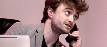 """""""Гарри Поттер"""" устроился на работу секретарем"""