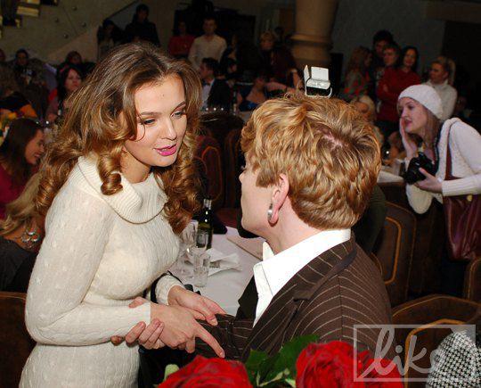 Анна Пославская и Александр Кривошапко
