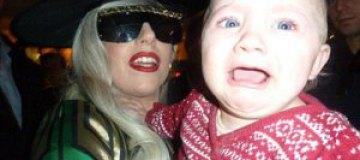 Леди Гага довела ребенка до истерики