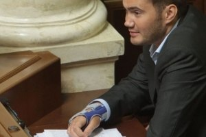 Виктор Янукович-младший сломал руку на гонках