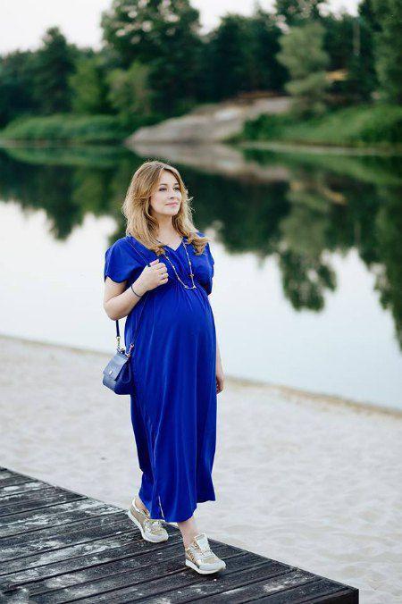 Елена Кравец в одежде собственной линии ONE SIZE by Lena Kravets