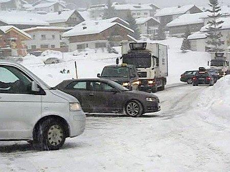 Австрию накрыла непогода