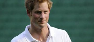 Принц Гарри сломал палец на ноге