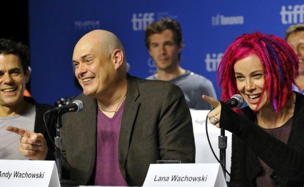 Энди Вачовски и его сестра Лана Вачовски в 2012 году