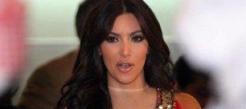 Беременную Ким Кардашьян увековечили в скульптуре