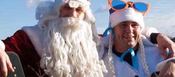 Мэр Киева стал экстремальным Дедом Морозом