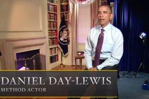 """Обама сыграл звезду """"Линкольна"""" в пародийном трейлере"""