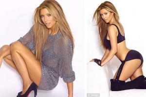 Ким Кардашьян от скуки стала блондинкой