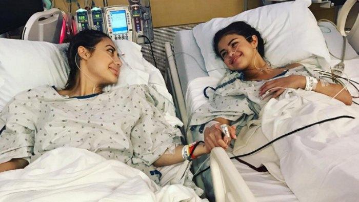 Селена Гомес и Франсия Райса после донорства почки