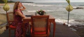 Жена Бадоева на Шри-Ланке ждала цунами
