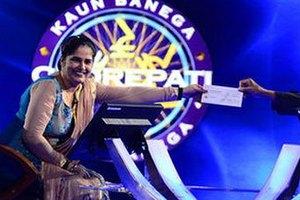"""Индийское """"Кто хочет стать миллионером"""" впервые выиграла женщина"""